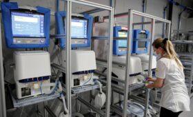 ФАС завела дело против поставщика аппаратов ИВЛ из Швейцарии»/>