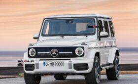 Mercedes-Benz готовит «зелёный» Gelandewagen: первое изображение EQG