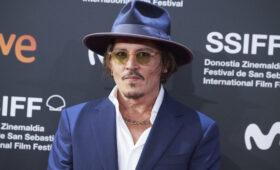 Джонни Депп получит высшую награду на кинофестивале в Сан-Себастьяне