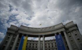 Украинский МИД вызвал белорусского дипломата после слов Лукашенко о Крыме»/>