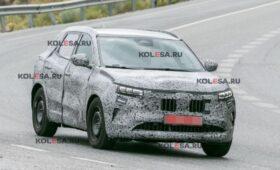 Новый Renault Kadjar начал сбрасывать камуфляж: свежие фото брата Кашкая