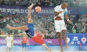 Победа России в пляжном футболе стала «безмерным счастьем»