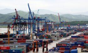 Три российских порта открыли для транзита «санкционки»»/>