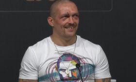 «Жить хочу, жену любить!»: Усик после боя с Джошуа оценил свою победу на русском языке