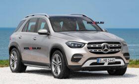 Mercedes-Benz готовит обновлённый кроссовер GLE: новое изображение
