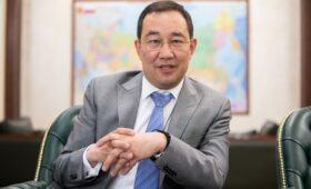 Глава Якутии— РБК: «Была серьезная битва за тайгу, как война»»/>
