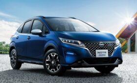 Ставший «кроссовером» Nissan Note кое в чём уступил главному конкуренту от Honda